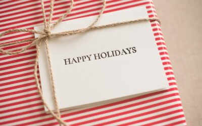 Holiday Deadlines & Limited Edition Gift Wrap